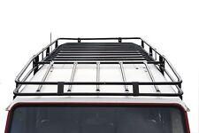 Defender 110 Expedition Roof Rack - Black Powder Coated