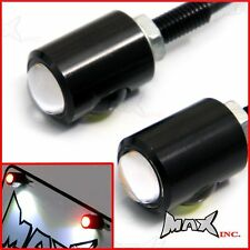 LED License Plate Bolts / Stop Lights Yamaha YZF 125r R6 R1 Fender Eliminator