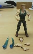 GUILE STREET FIGHTER ROUND 3 COMPLETE SOTA TOYS