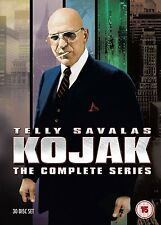 KOJAK Serie Originali Complete BOX 30 DVD in Inglese NEW .cp