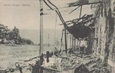 A556) WW1, GORIZIA ITALIANA 9/8/1916, LA STAZIONE FERROVIARIA BOMBARDATA.