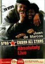DVD Absolutely Live by Afro Cuban All Stars & Juan de Marcos 2 Disc NEW SEALED