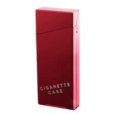Slim Cigarette Case Metal Holder Box Awesome Aluminum Hard Case Women Gift