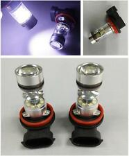 2 X 100W 6000K White H11 CREE LED Fog Light 1800LM High Low Beam Light Lamp Bulb