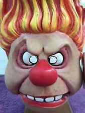Halloween Christmas HEAT MISER THE YEAR WITHOUT A SANTA CLAUS Latex Deluxe Mask