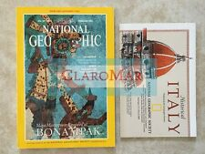 ☀️ National Geographic February 1995 Amazon Venice Italy Map Panda Maya MINT