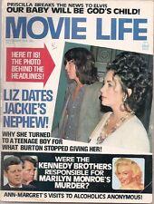 C963 Movie Life Nov. 1973 Marilyln Monroe J. Wayne Elvis Vintage Movie Magazine.