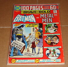 1974 Brave and the Bold #113 Batman & Metal Men 1st Print 100 Page Giant