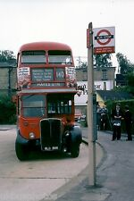 London Transport RT4779 Mill Hill East Station 12th July 1978 Bus Photo B