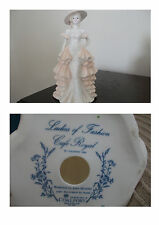 "Coalport Figurine ""Cafe Royal"" Ladies of Fashion Collection"
