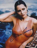 BARBARA CARRERA SIGNED 007 JAMES BOND 8x10 PHOTO - UACC & AFTAL RD AUTOGRAPH