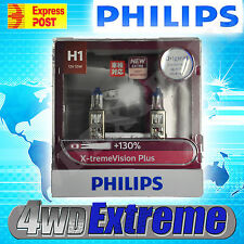 NEW MODEL PHILIPS +130% H1 XTREME VISION PLUS PAIR OF GLOBES 12V 55W UPGRADE