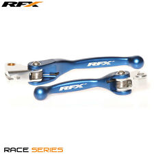 RFX Race Series Forged Flexible Lever Brake & Clutch Set Blue Yamaha YZF250 2011