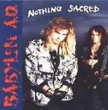 BABYLON AD-Nothing sacred  Jeff Scott Soto  MHR/Glam CD