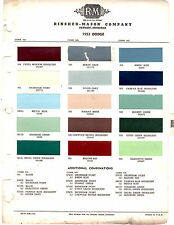 1953 DODGE CORONET SPECIAL SIERRA MEADOWBROOK 53 PAINT CHIPS RINSHED MASON 2