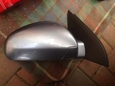VAUXHALL SIGNUM VECTRA C O/S DRIVER SIDE  WING MIRROR RIGHT DOOR MIRROR  SILVER