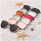 Retro Fashion Mirror Lenses Women Sunglasses Eyewear Christian Designer Gifts