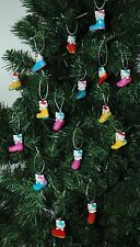 Set of 16 Hello Kitty Fashionable Shoe Christmas Ornaments