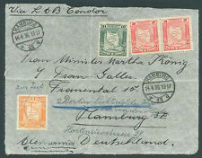 BOLIVIA TO GERMANY Re-Sent Front Cover Nice Postage 1936