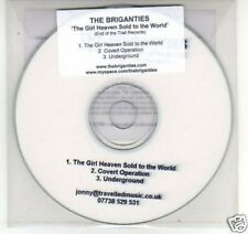 (F993) The Briganties, The Girl Heaven Sold to .- DJ CD