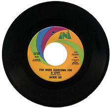 "JACKIE LEE  ""YOU WERE SEARCHING FOR A LOVE c/w YOUR SWEETNESS IS MY...""  LISTEN!"