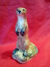 Studio Pottery Otters BY Muile CERAMIC OTTER