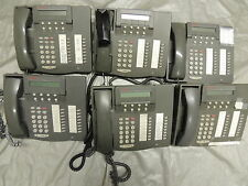 Lot of 6 Avaya 6416D+M / 108807611 Business Office Phones