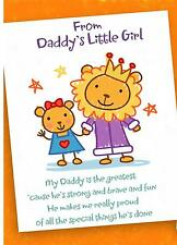 Personalised A5 From Daddy's Little Girl Cute Birthday Greeting Card Daughter