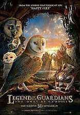 Legend of the Guardians - The Owls Of Ga'Hoole (DVD, 2011) new sealed Happy Feet