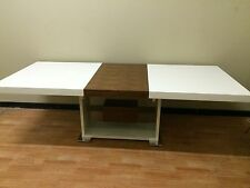"Brand New ""Sheraton"" Extension High Gloss Polyurethane Dining Table"