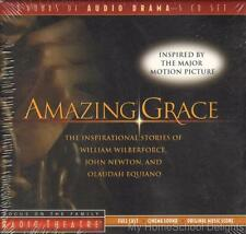 New AMAZING GRACE Focus on the Family Radio Theater Audio 5-CD Set Biographies