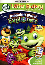 LeapFrog: Letter Factory Adventures - Amazing Word Explorers (DVD, 2015)