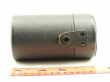 "AR Hexanon Konica Hard Camera Lens Case Cover for 135mm f3.5 Lens 5"" tall"