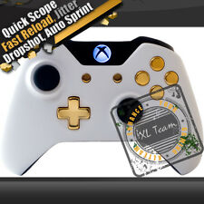WHITE XBOX ONE MODDED RAPID FIRE CONTROLLER COD AW BLACK OPS 3 1000+ COMBOS