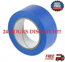 2 Roll-UV-Resistant-Blue-Painters-Clean-Peel-Masking-Tape-48mm-x-50M CHEAPEST