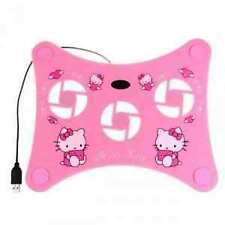 Hello Kitty USB Cooler Fan Pad For Notebook Netbook Laptop