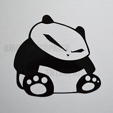 Black Panda Decal Sticker Vinyl for Hyundai Coupe Tucson Terracan Veloster Sonat