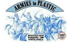 Armies In Plastic 1/32nd Scale Mounted ARAB Warriors Figures Set 5487 NEW!