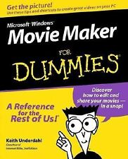 Microsoft Windows Movie Maker For Dummies, Keith Underdahl, Good Book