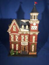 Brighton School Dept 56 Christmas In the City #58876 Retired Orig. Box & Sleeve