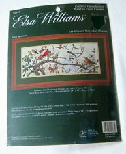 Elsa Williams Cross Stitch Kit Bird Seasons