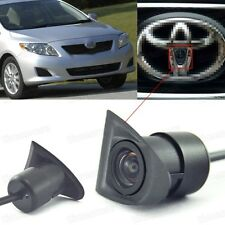 Wide Degree CCD Car Front View Camera Logo Embedded for 2007-2013 Toyota Corolla