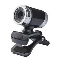 USB 2.0 12MP HD Camera Web Cam 360°Rotation with Mic Clip-on for Android TV PC