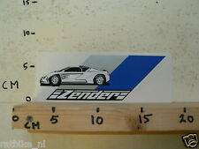 STICKER,DECAL ZENDER FERRARI ? BUGATTI ? SPORT CAR