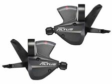 gobike88 SHIMANO ALTUS SL-M370 Shifter Lever Pair for 3 X 9 Speed, Gray, X16