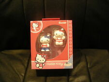 BULLYLAND - SANRIO - HELLO KITTY - 2 x COLLECTABLE FIGURES - NEW