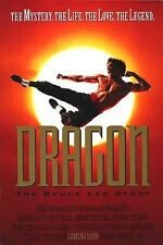 DRAGON THE BRUCE LEE STORY - 27x40 D/S Original Movie Poster One Sheet Jason Lee