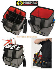 CK Magma 3 In 1 Square Open TOTE Work Hand Tool Storage Bag/Holdall Case, MA2637