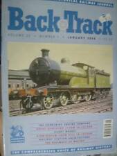 Back Track UK Railroad Train Magazine January 2006-Yorkshire Engine Co/Great Nor