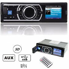 NEW Auto Car Stereo Audio FM Aux Input Receiver SD USB MP3 WMA Radio Player HOT